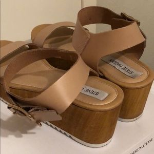 ba0a05c356e Steve Madden Shoes - Steve Madden Nylee Platform Sandals